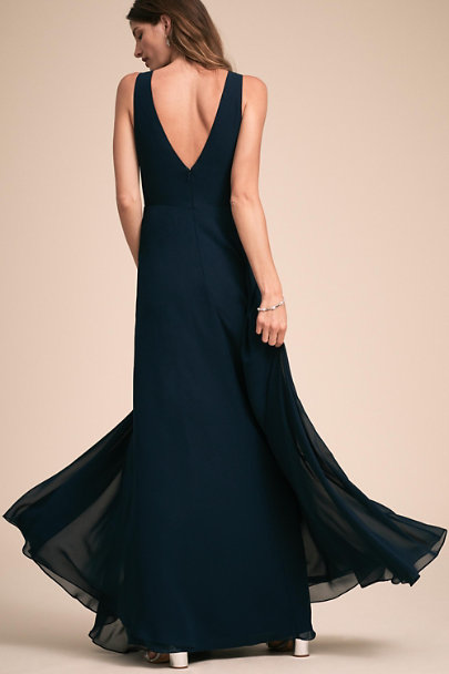 Jenny Yoo Navy Ryan Dress | BHLDN