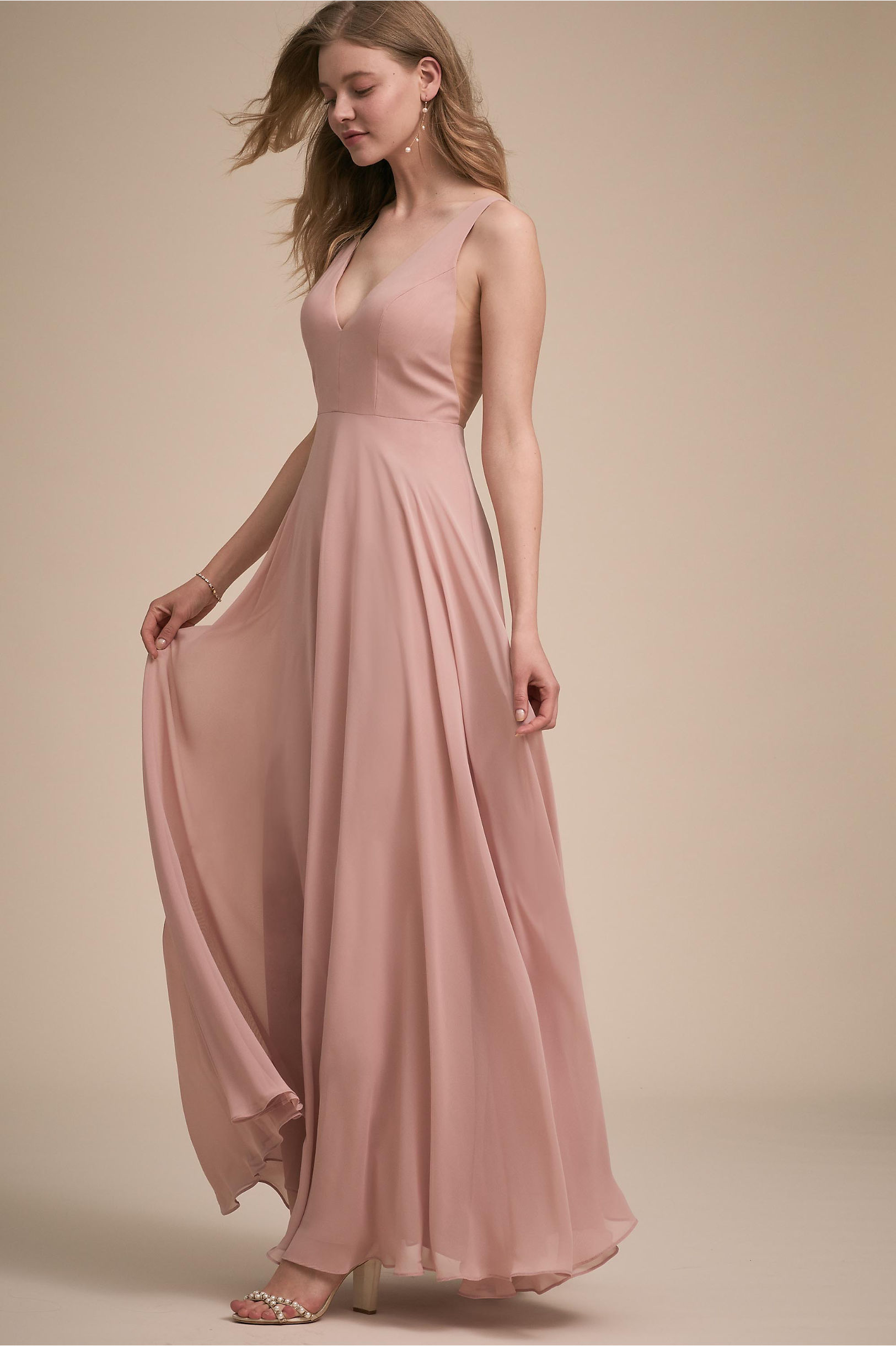 Colby Dress Whipped Apricot in Bridesmaids & Bridal Party | BHLDN