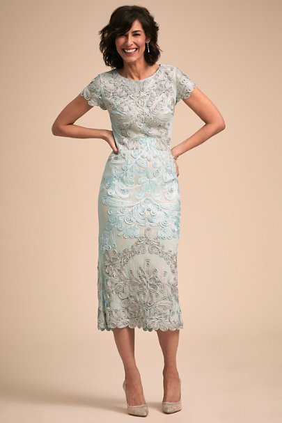 JS Collection Silver/Ice Santiago Dress | BHLDN