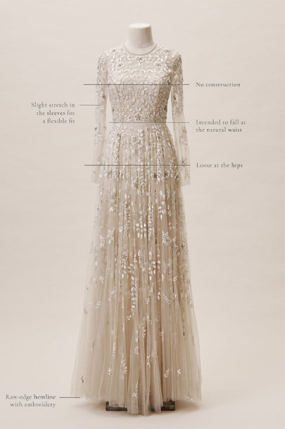 BHLDN Champagne Golden Hour Gown | BHLDN