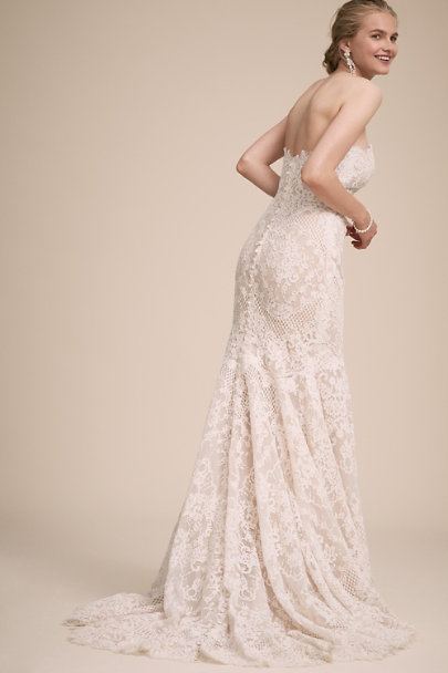 BHLDN Ivory Endless Bliss Gown | BHLDN