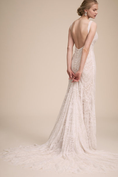 BHLDN Ivory Love Note Gown | BHLDN