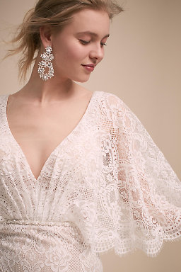 Long Sleeve Wedding Dresses | Long & Cap Sleeve | BHLDN