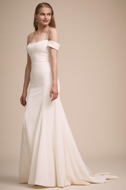 Jenny Yoo Ivory Montrose Gown | BHLDN
