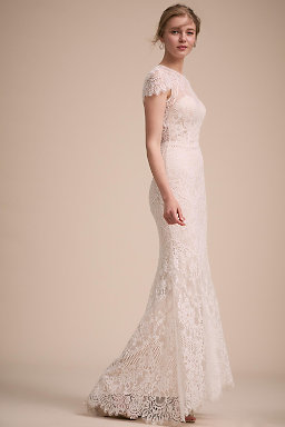 Sheath column wedding dresses bhldn lavi gown lavi gown junglespirit Choice Image
