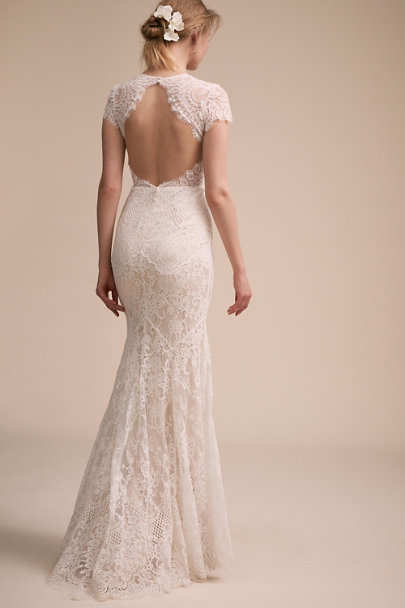 Catherine Deane Ivory Lavi Gown | BHLDN