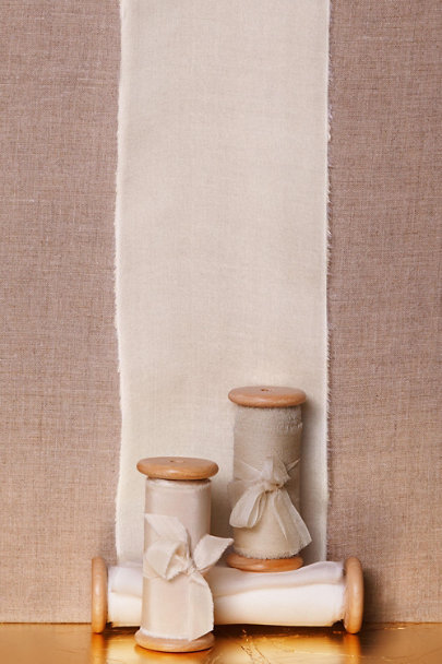 Froufrou Chic Neutral Burnished Neutral Ribbon Bundle | BHLDN
