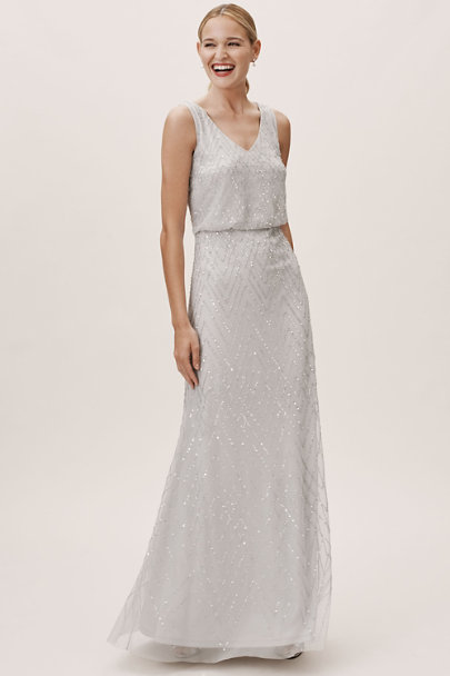 BHLDN Fog Blaise Dress | BHLDN