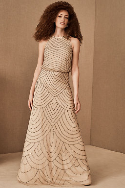 Madigan Dress Nude.