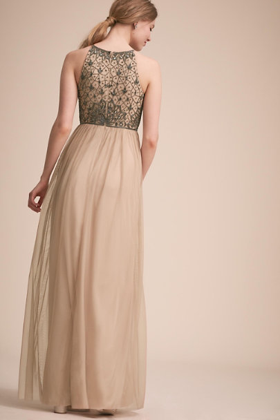BHLDN Nude Lachlan Dress | BHLDN