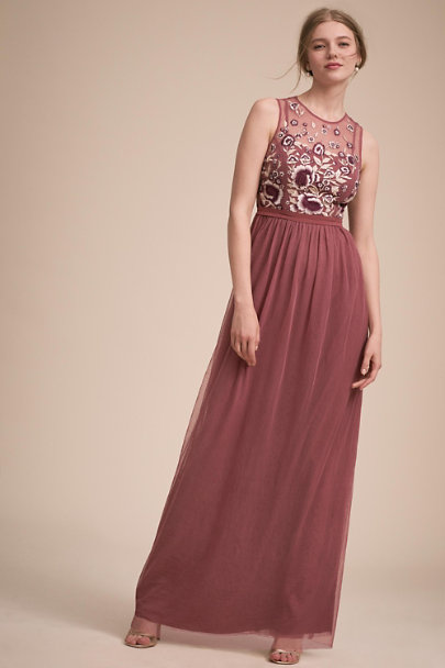 BHLDN Cinnamon Rose Baldwin Dress | BHLDN