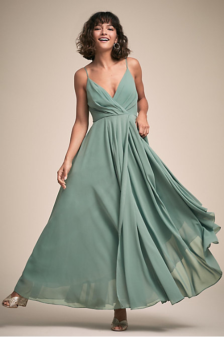 Eva Dress Violet Grey In Bridesmaids Amp Bridal Party Bhldn