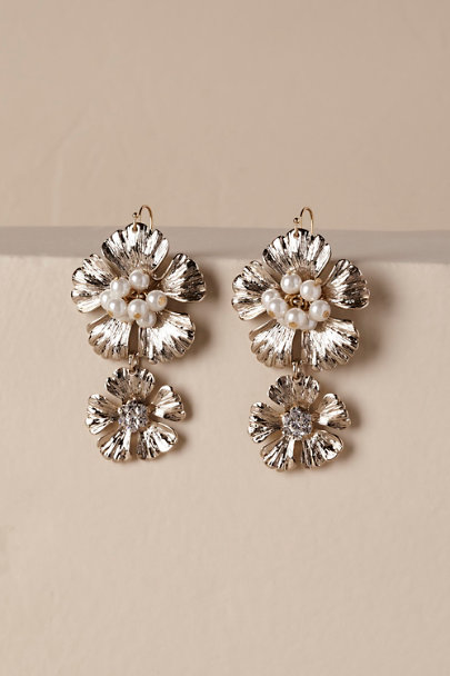 Jardin Gold Neala Earrings | BHLDN