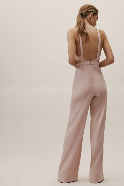Jay Godfrey Blush Esmie Jumpsuit | BHLDN