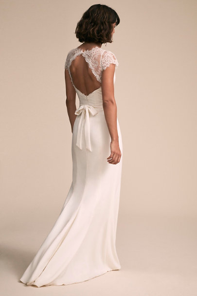 Amy Kuschel Ivory Smith Gown | BHLDN