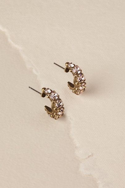 Sorrelli Gold Malisa Hoop Earrings | BHLDN