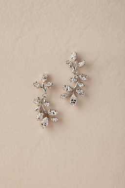 Sparkling Botanical Earrings