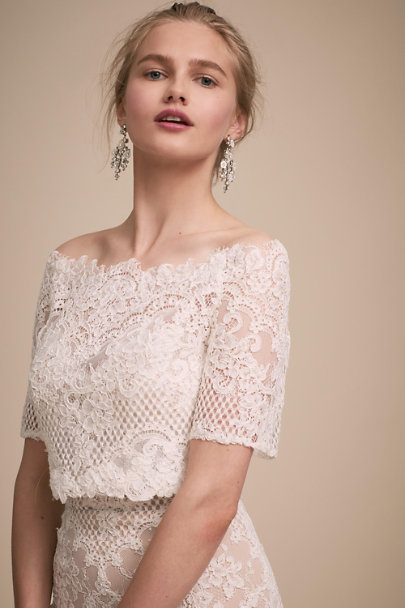 BHLDN Ivory Walsh Topper | BHLDN