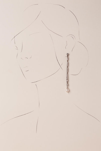 Ben-Amun Silver Nessia Drop Earrings | BHLDN