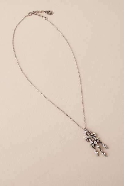 Ben-Amun Silver Quinta Necklace | BHLDN
