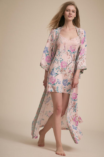 Homebodii Pink Boho Chemise | BHLDN