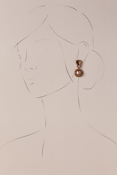 Deepa Gold Delmira Drop Earrings | BHLDN