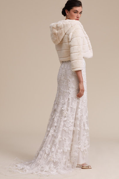 Apparis Ivory Estes Jacket | BHLDN
