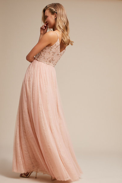 c7b31259d16b ... Adrianna Papell Blush Cluny Dress | BHLDN ...