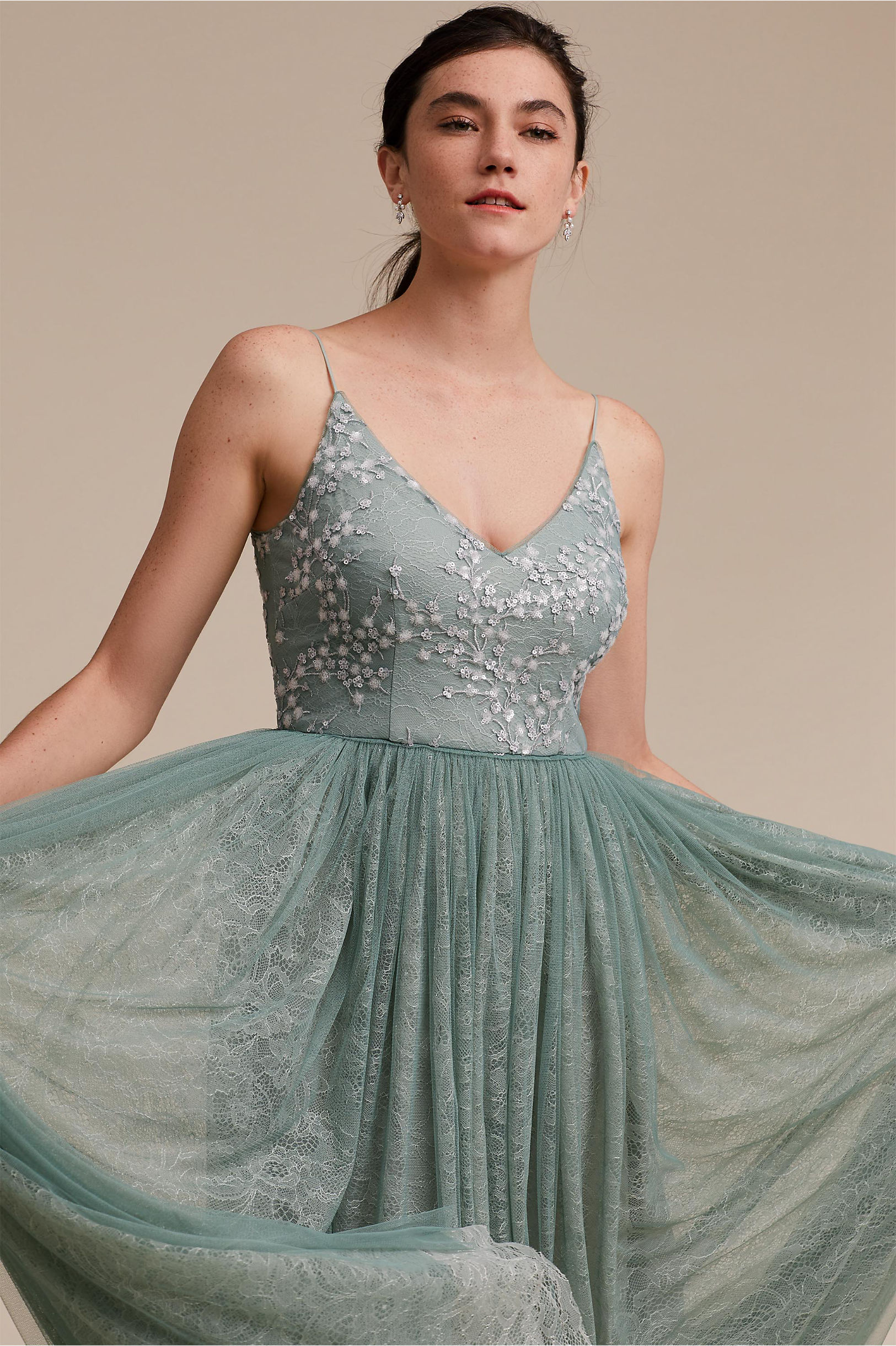 17adb98a5352 Cluny Dress Aqua Mist in Sale | BHLDN