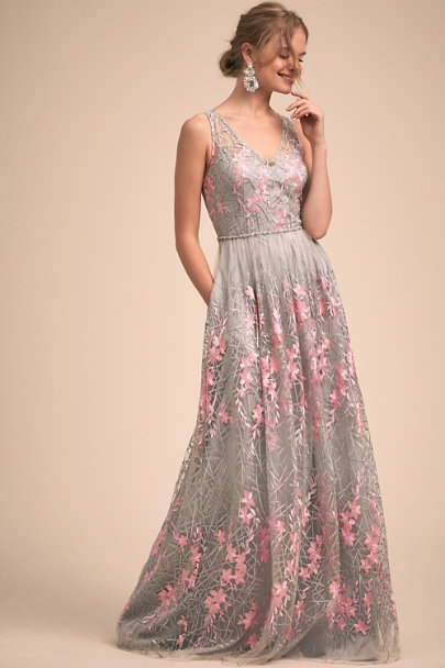 Adrianna Papell Pink Multi Evan Dress | BHLDN