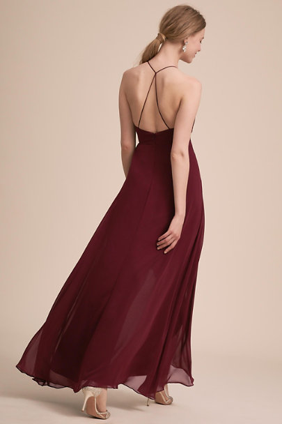 Jenny Yoo Hibiscus Farrah Dress | BHLDN