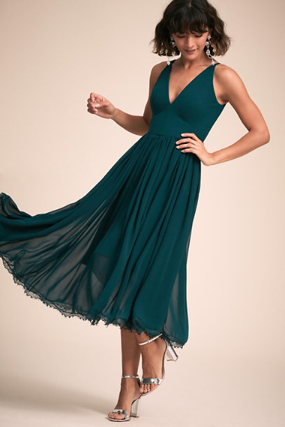 Dress the Population Pine Alicia Dress | BHLDN