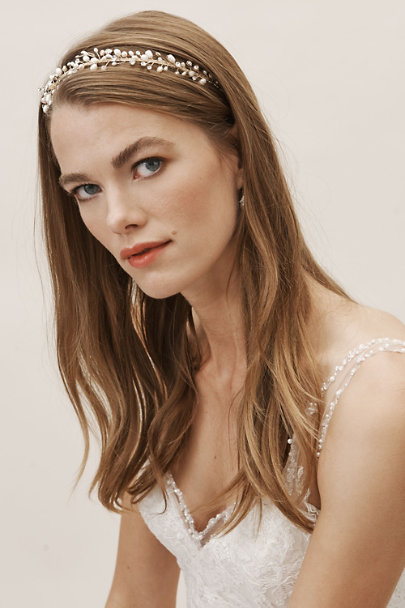 Gold Wilhelmina Headband | BHLDN