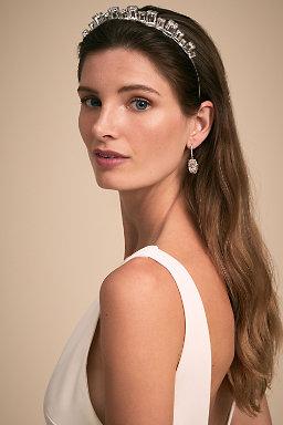 Wedding hair accessories bohemian hair accessories bhldn adette tiara adette tiara junglespirit Choice Image