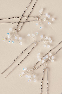 Baby's Breath Hair Pins