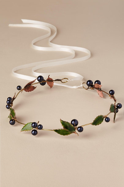 Melinda Rose Gold Blueberry Crown | BHLDN