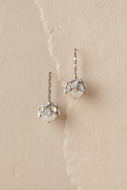 Theia Jewelry Silver Adena Drop Earrings | BHLDN