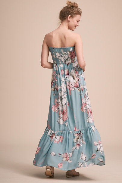Plum Pretty Sugar Blue Lolo Dress | BHLDN