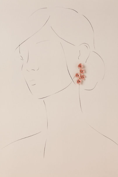 Jennifer Behr Pink Pia Earrings | BHLDN
