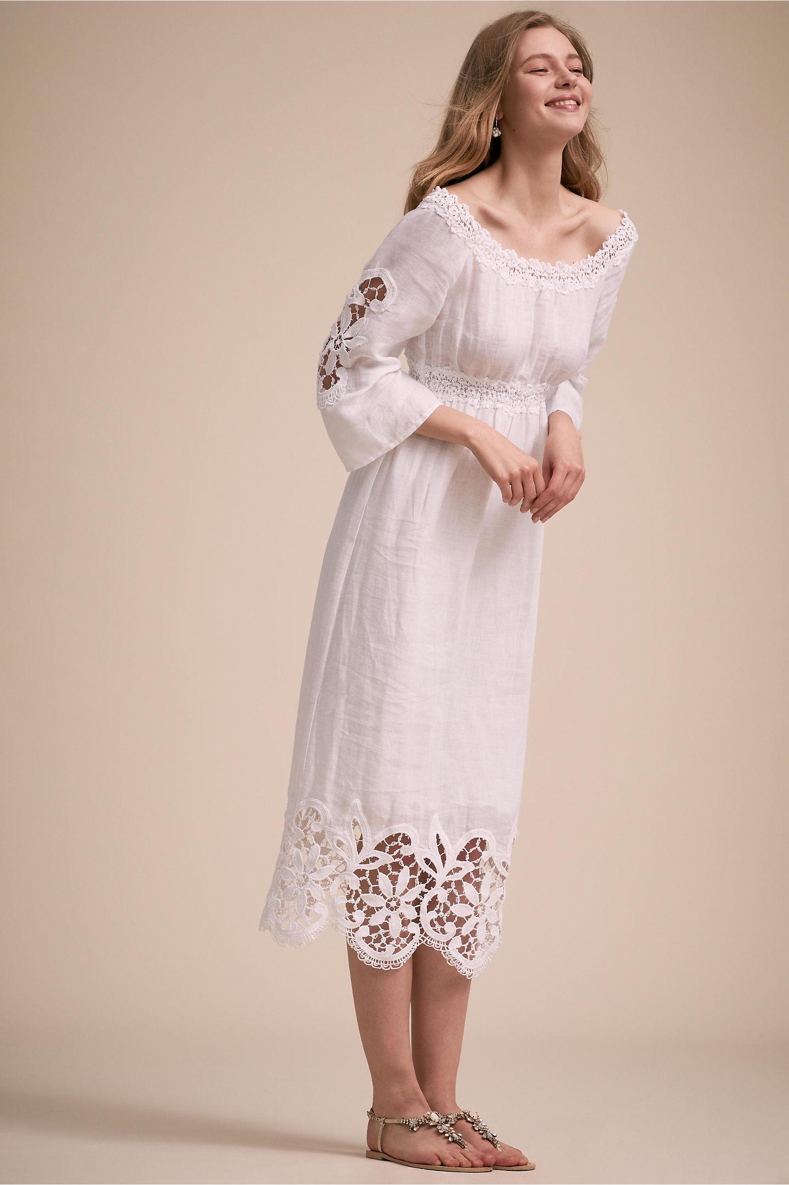 60s Wedding Dresses | 70s Wedding Dresses Pemba Dress $440.00 AT vintagedancer.com