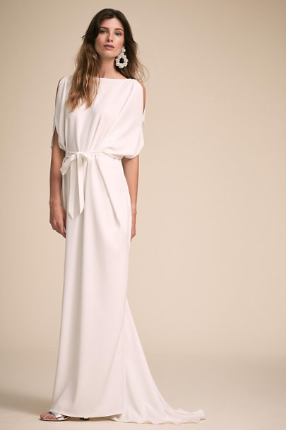 Amy Kuschel Ivory Andros Gown | BHLDN