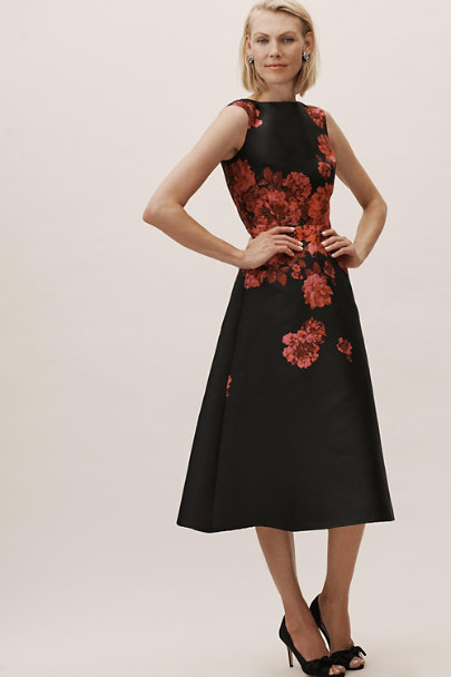 BHLDN Black/Pink Hope Dress | BHLDN