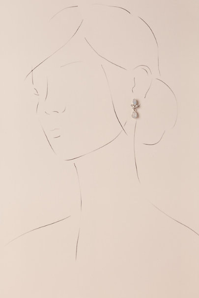 Ti Adoro Silver Virginia Drop Earrings | BHLDN