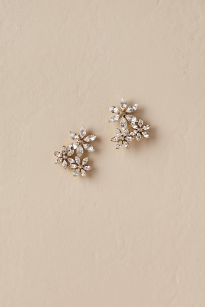 Ti Adoro Gold Ediline Earrings | BHLDN