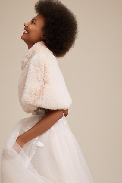 Taupe Belmont Cape | BHLDN