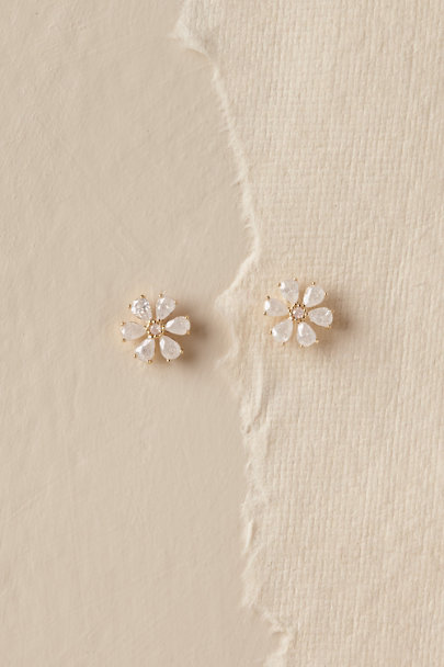 Theia Jewelry Pink Luci Earrings | BHLDN