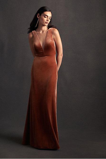 Logan Velvet Dress