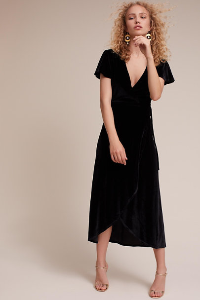 BHLDN Black Thrive Dress | BHLDN