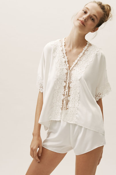 Flora Nikrooz Ivory Showstopper Pajama Set | BHLDN