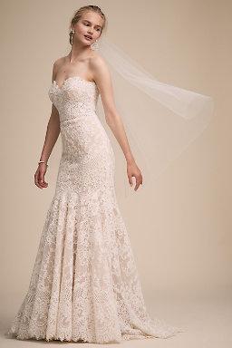 Bridal accessories wedding accessories for brides bhldn adelinda fingertip veil junglespirit Gallery
